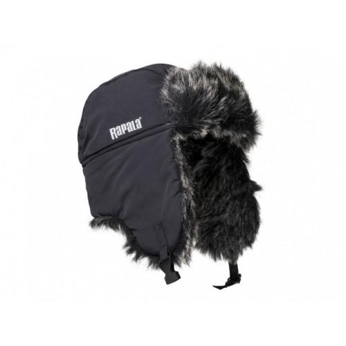 Žieminė kepurė Rapala Trapper Black