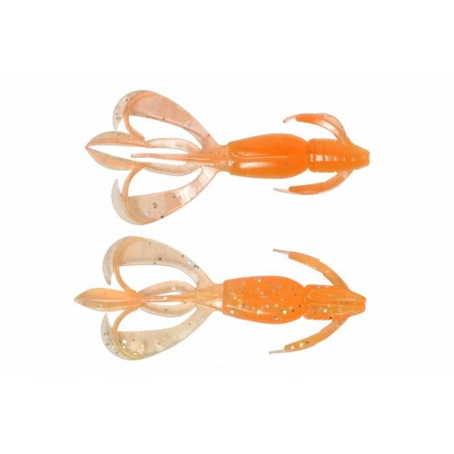 Keitech Crazy Flapper 2,8inch Orange Rainbow
