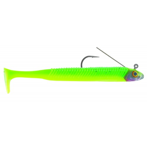 Guminukai Storm 360GT Searchbait Minnow Weedless 11cm Chartreuse Ice
