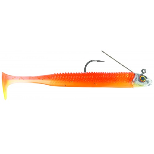 Guminukai Storm 360GT Searchbait Minnow Weedless 11cm Sunset