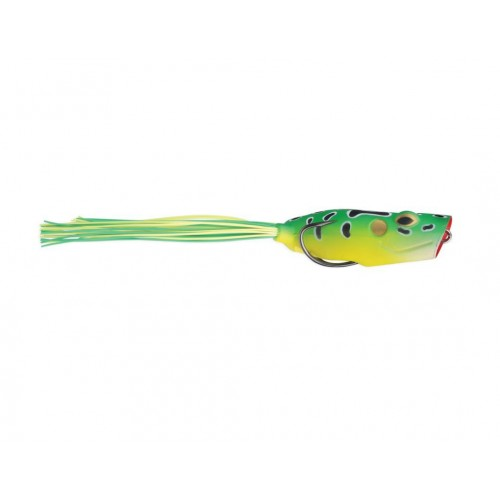 Guminukai Storm Sx-Soft Bloop Frog 77mm 20g Lime Leopard