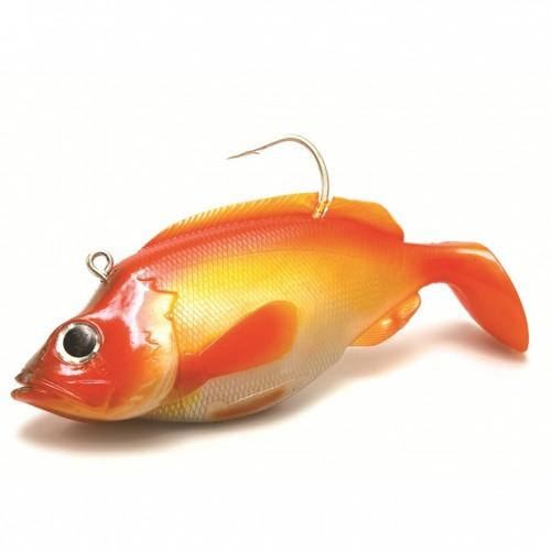 Jūrinė guma su galvakabliu KINETIC RED ED Rose Fish 2vnt.