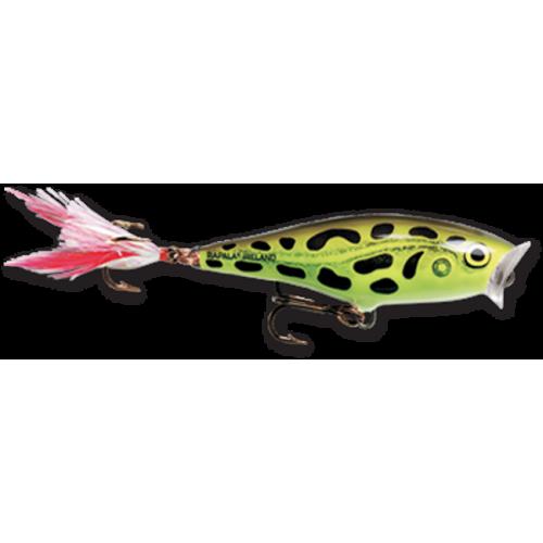 Rapala Skitter Pop 5cm Lime Frog