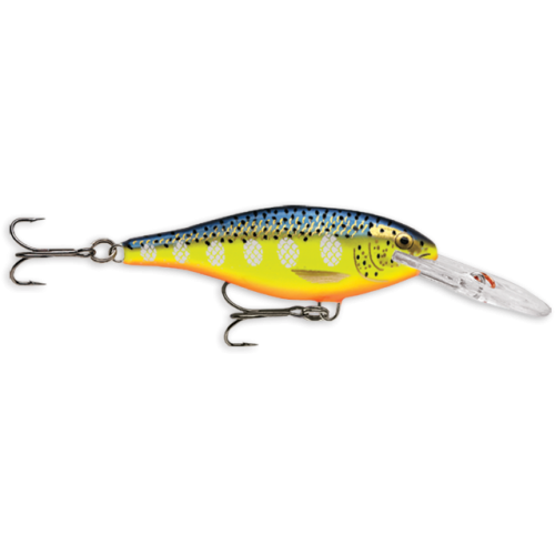 Rapala Shad Rap 9cm Hot Steel