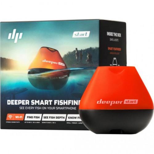 Echolotas Deeper Smart Fishfinder Start
