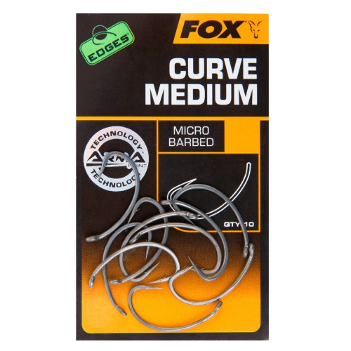 Kabliukai Fox Edges Curve Medium