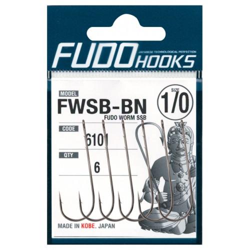 Kabliukai Fudo Hooks FWSB-BN