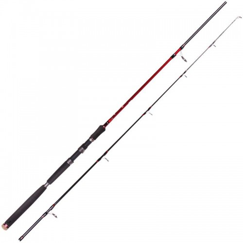 D.A.M. STEELPOWER RED G2 SHAD & PILK 2.40M 40-170 G