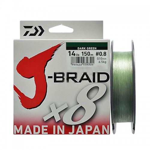 Pintas valas Daiwa J-BRAID X8 150m