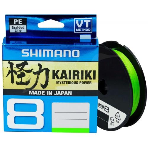 Pintas valas SHIMANO KAIRIKI PE 150 M Mantis Green