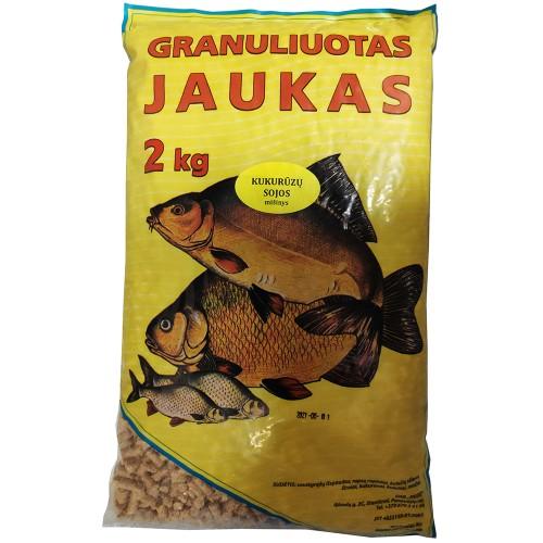 Faidė Kukurūzų sojos mišinys granuliuotas jaukas 2kg.