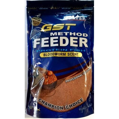 Traper GST Method Feeder protein fish - bloodworm scent