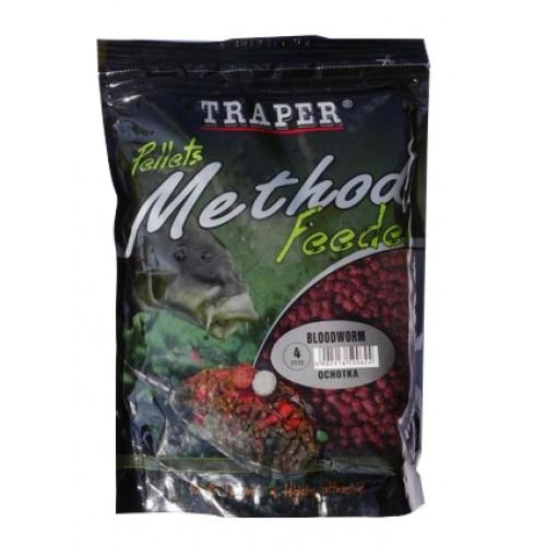 Traper Method Feeder Bloodworm Pellets 4mm