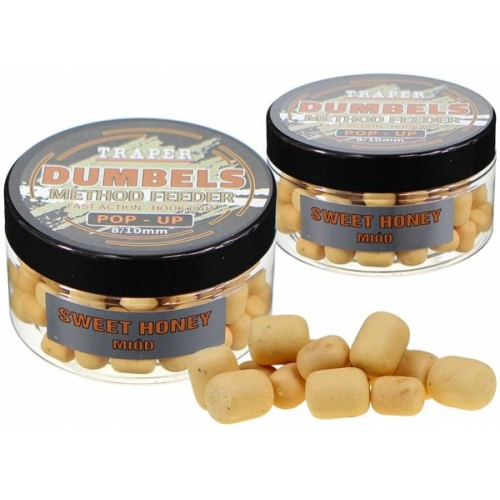 Traper Dumbels Method Feeder Pop-Up Sweet Honey