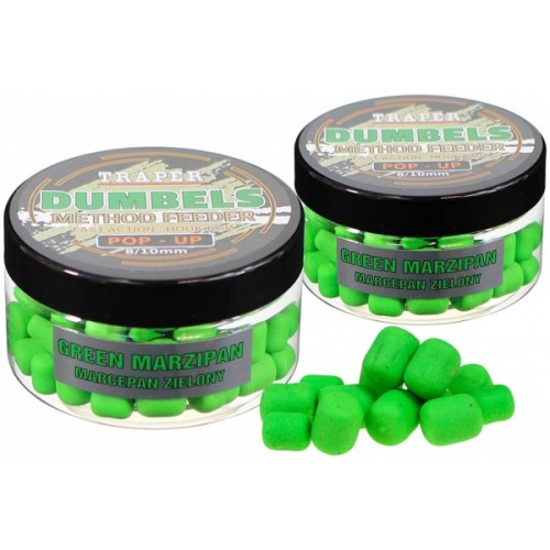 Traper Dumbels Method Feeder Pop-Up Green Marzipan