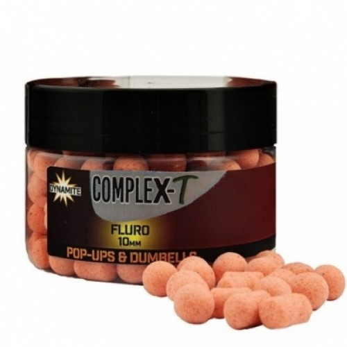 Dynamite Baits Pop-Ups Fluro and Dumbells Comlex-T 10mm