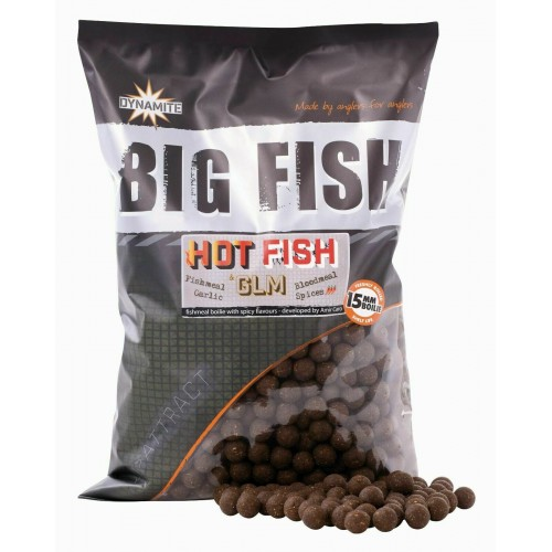 Dynamite Baits Big Fish Hot Fish and GLM  20mm 1,8kg