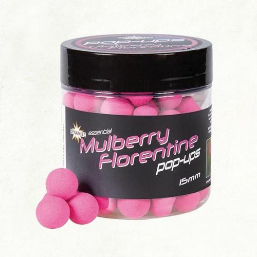 Dynamite Baits Fluro Pop-Ups Mulberry Florentine 15mm
