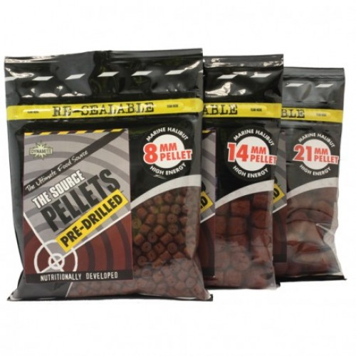 Dynamite Baits Pellets Source Pre-Drilled 8mm