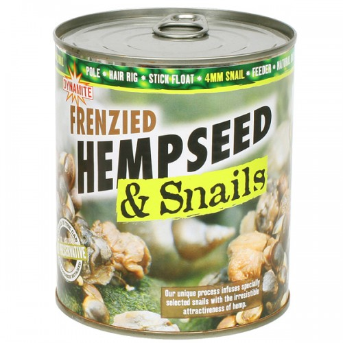 Dynamite Baits Frenzied Hempseed and Snaills 4mm