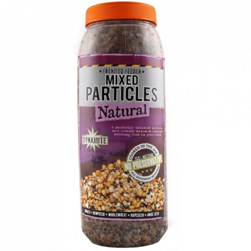 Dynamite Baits Frenzied Feeder Mixed Particles Natural