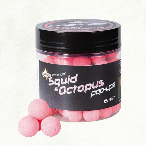 Dynamite Baits Fluro Pop-Ups Squid and Octopus 15mm