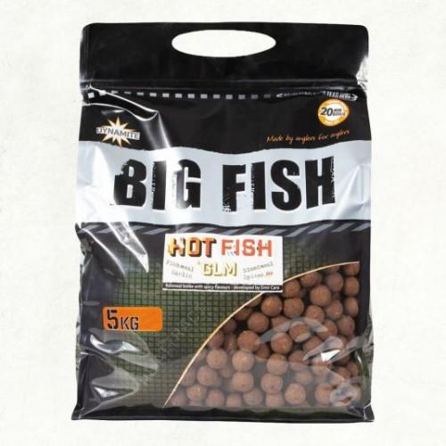 Dynamite Baits Big Fish Hot Fish and GLM  15mm 5kg