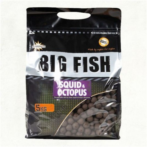 Dynamite Baits Big Fish Squid and Octopus  20mm 5kg