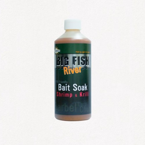 Dynamite Baits Big Fish River Bait Soak Shrimp and Krill