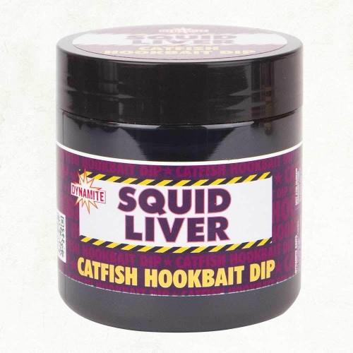 Dynamite Baits Catfish Hookbait Dip Squid Liver