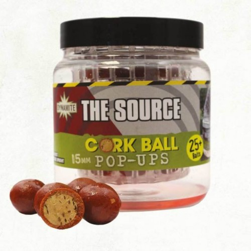 Dynamite Baits Pop-Ups Cork Ball Source 15mm