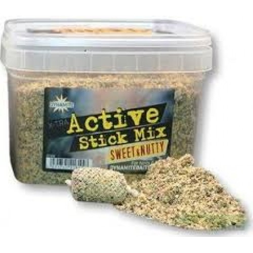 Dynamite Baits X-tra Active Stick Mix Sweet and Nutty